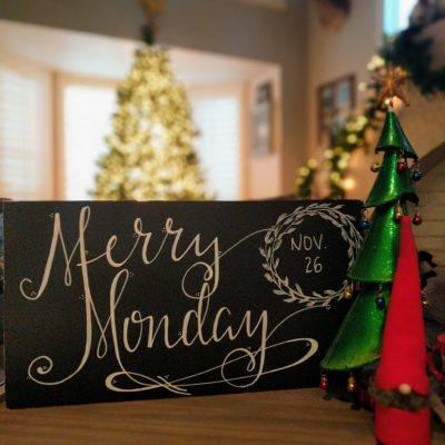 Merry Monday | Hand lettering