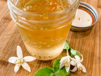 Orange Blossom Simple Syrup